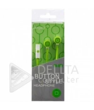 Наушники c микрофоном IN-032 зеленые