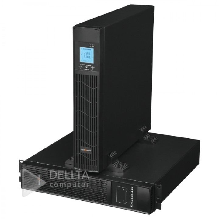 ИБП Smart-UPS LogicPower-6000 PRO, RM (rack mounts) (with battery)LP6740