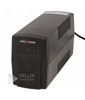 ИБП LogicPower 500VA-P, 2 евророзетки, 5 ступ. AVR, 7.5Ач12В. plastic case LP1880