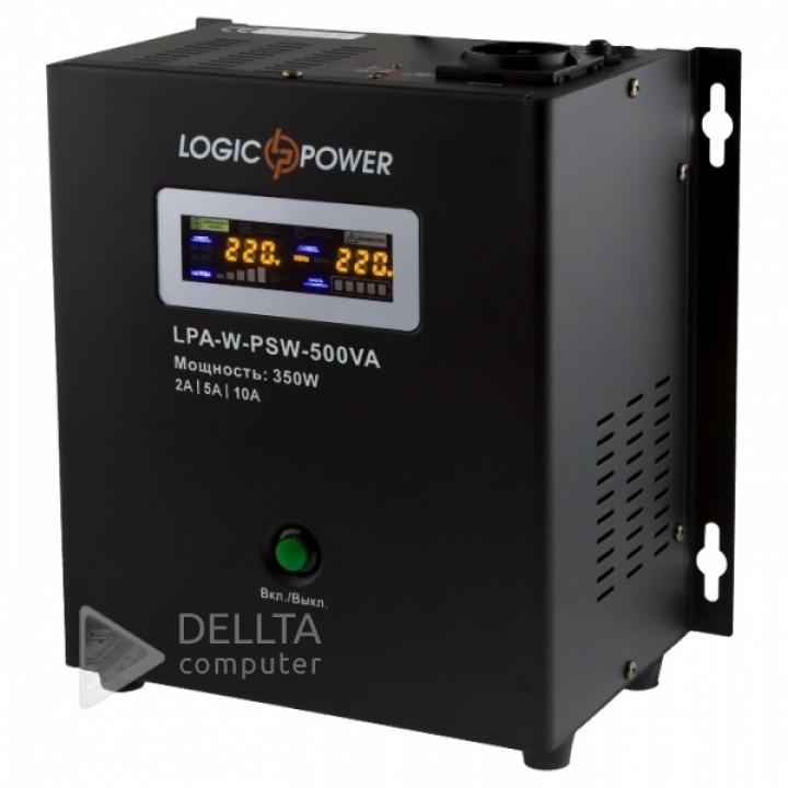 ИБП Logicpower LPA- W - PSW-500VA (350Вт) 2A/5A/10A с правильной синусоидой 12В LP7145