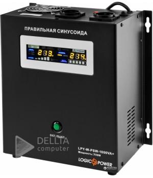 ИБП Logicpower LPY- W - PSW-1000VA+ (700Вт) 10A/20A с правильной синусоидой 12В LP4144