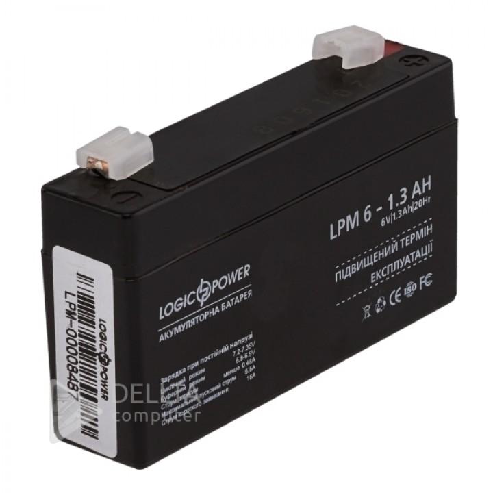 Аккумулятор AGM LPM 6-1.3 AH (4157)