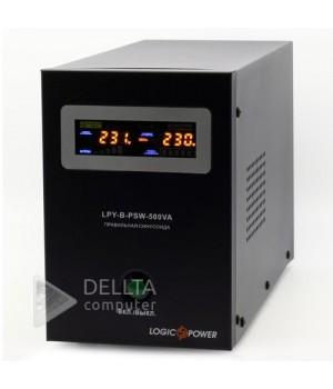 ИБП Logicpower LPY- B - PSW-800VA+  (560Вт) 5A/15A с правильной синусоидой 12В LP4150