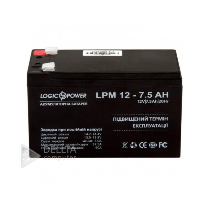 Аккумулятор AGM LPM 12-7.5 AH LP3864