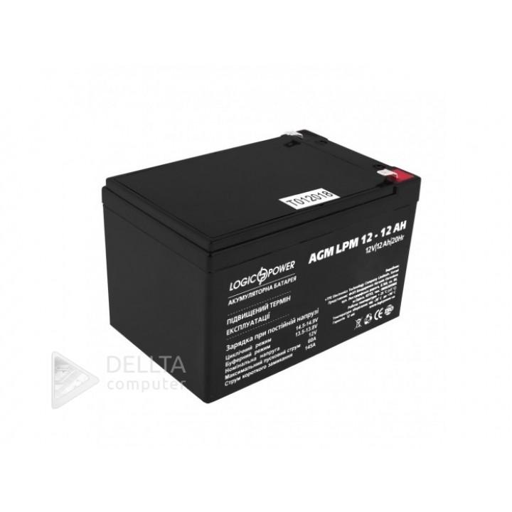 Аккумулятор AGM LPM 12 - 12 AH LP6550