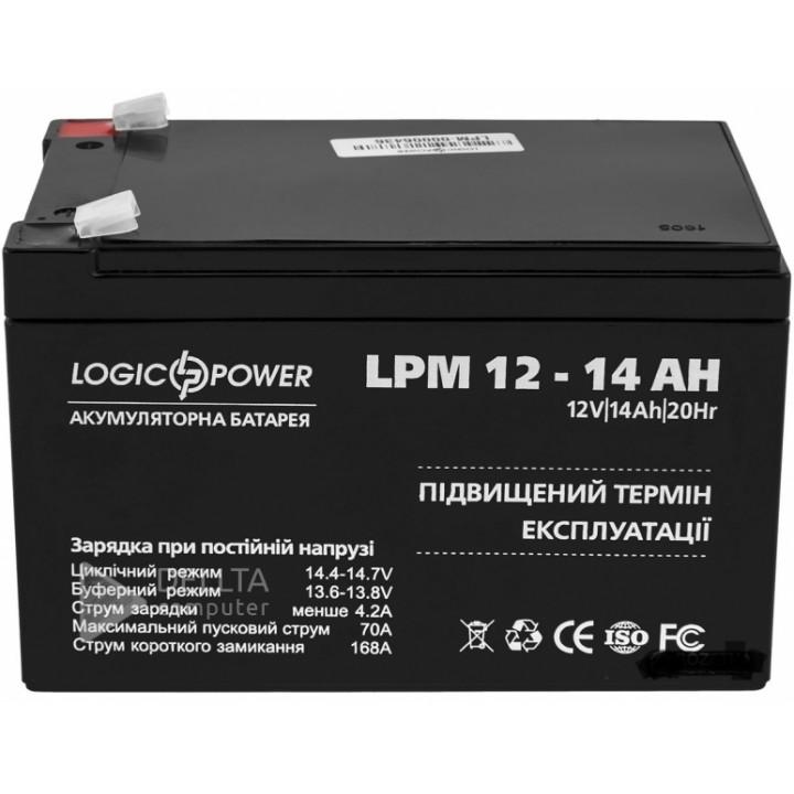 Аккумулятор AGM LPM 12 - 14 AH LP4161