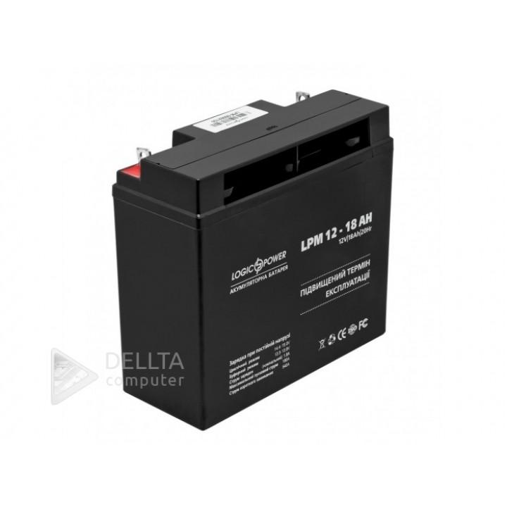 Аккумулятор AGM LPM 12 - 18 AH LP4133