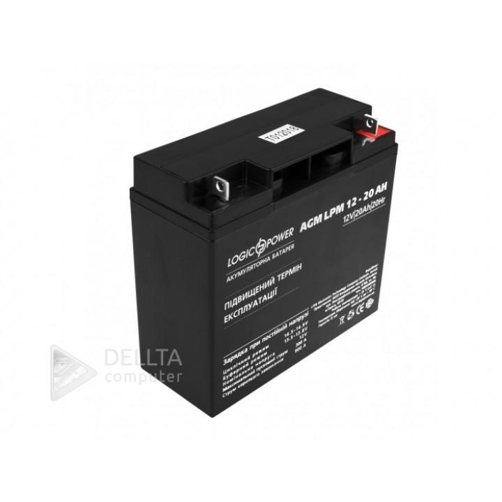 Аккумулятор AGM LPM 12 - 20 AH LP4163