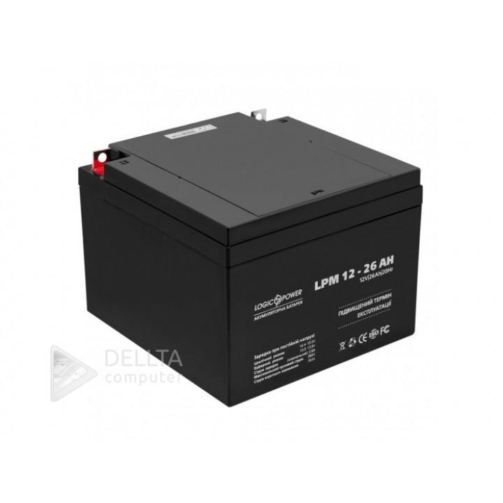 Аккумулятор AGM LPM 12 - 26 AH LP4134