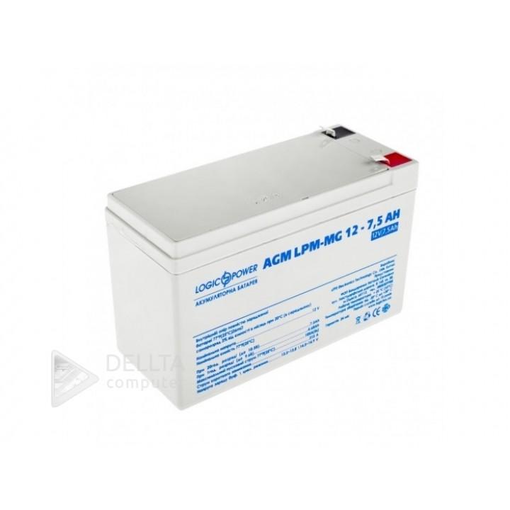 Аккумулятор мультигелевый AGM LPM-MG 12 - 7,5 AH LP6554