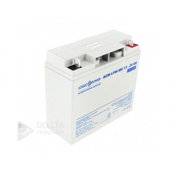 Аккумулятор мультигелевый AGM LPM-MG 12 - 20 AH LP6556