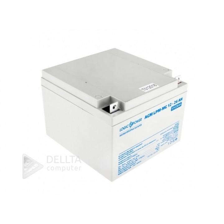 Аккумулятор мультигелевый AGM LPM-MG 12 - 26 AH LP6557