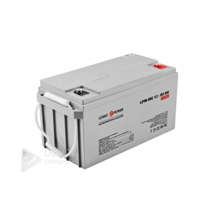 Аккумулятор мультигелевый AGM LPM-MG 12 - 80 AH LP4196