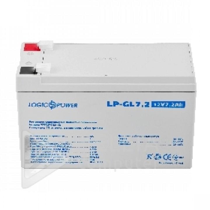 Аккумулятор гелевый LPM-GL 12 - 7,2 AH LP6561