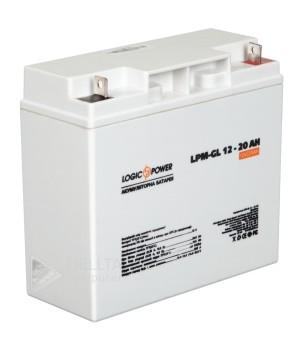 Аккумулятор гелевый  LPM-GL 12 - 20 AH LP5214