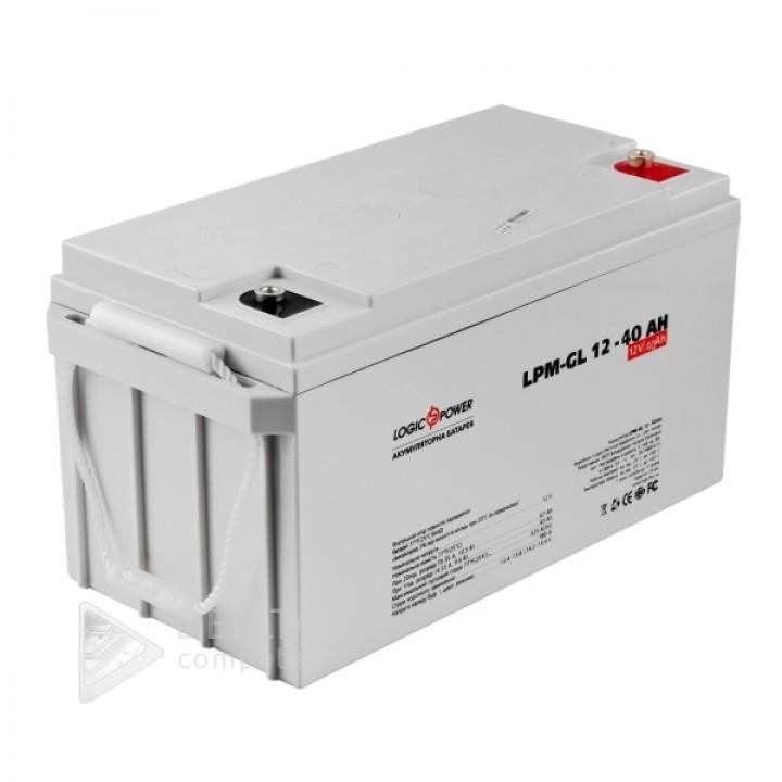 Аккумулятор гелевый  LPM-GL 12 - 40 AH LP4154