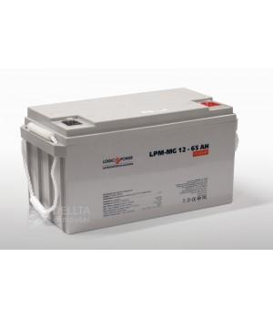 Аккумулятор гелевый  LPM-GL 12 - 65 AH LP3869