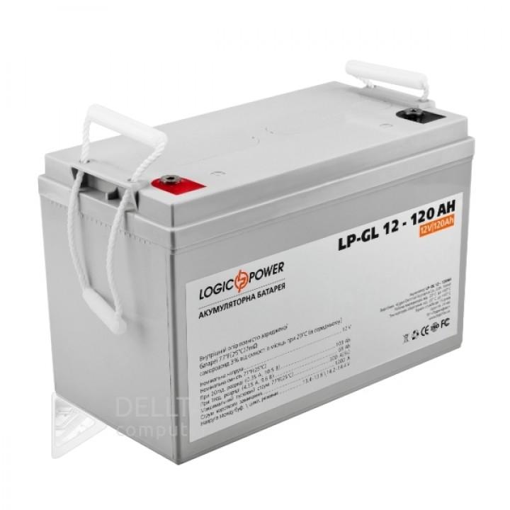 Аккумулятор гелевый  LPM-GL 12 - 120 AH LP3870