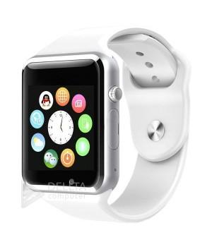 Часы-телефон Smart Watch Smart A1 белые