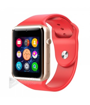 Часы-телефон Smart Watch Smart A1 красные