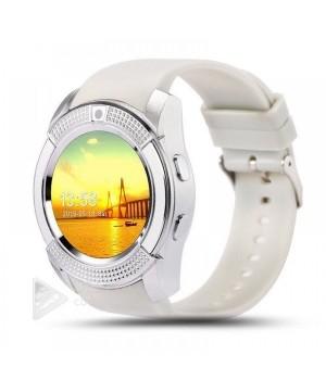 Часы-телефон Smart Watch Smart V8 white