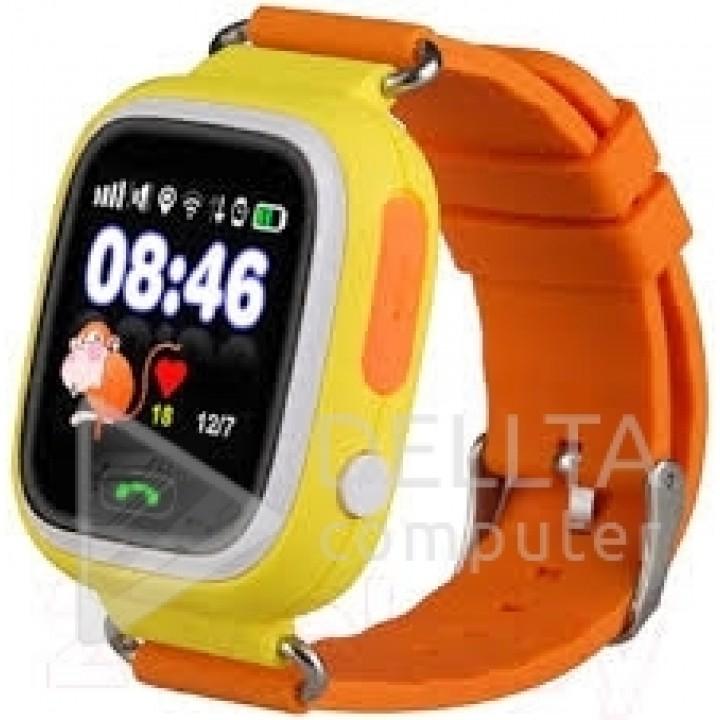 Smart часы детские сенсорные Q90 желтые