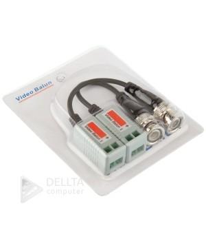 Video Balun 1-каналный приемник GV-01HD p-03 блистер пара