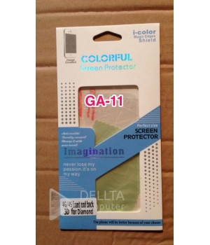 Пленка на Iphone 4G/4S 3D icolor GA11