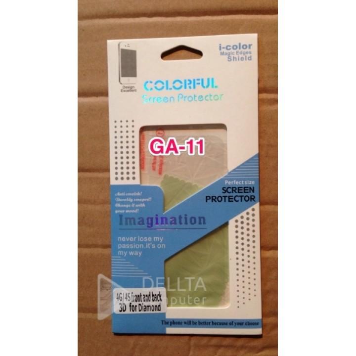 Пленка на Iphone 4G/4S 3D icolor GA11