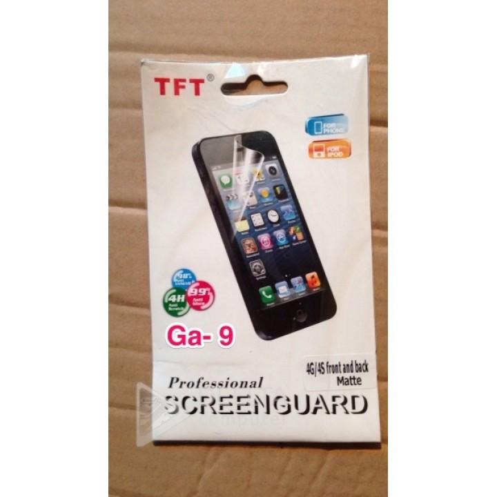 Пленка на Iphone 4G/4S двухсторонняя  front and back GA1 GA7 GA9
