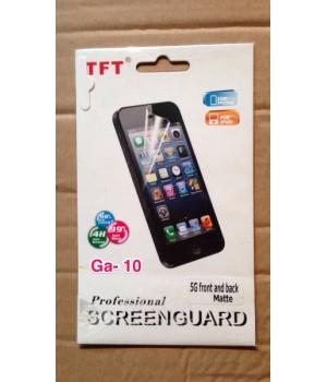 Пленка на Iphone 5G двухстороняя front and back GA2 GA8 GA10