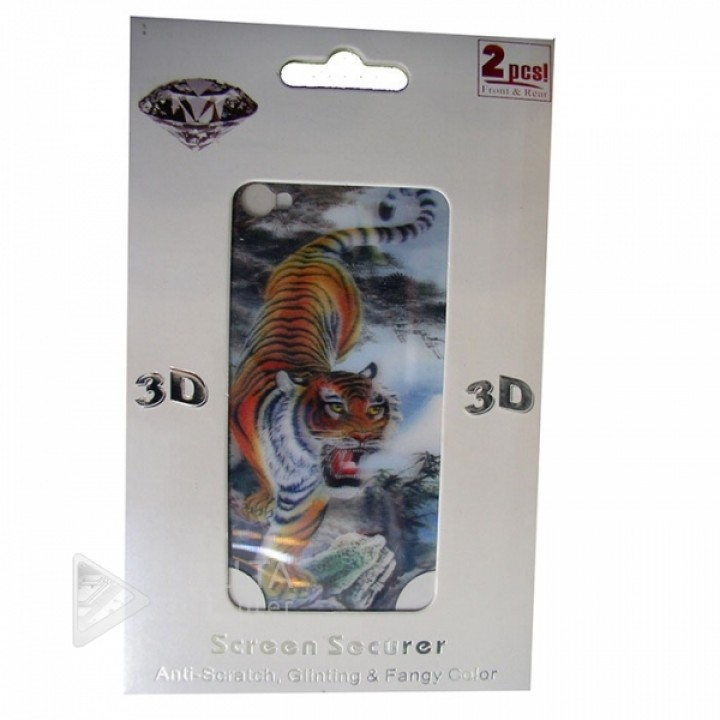 Пленка-наклейка на Iphone 4, 3D