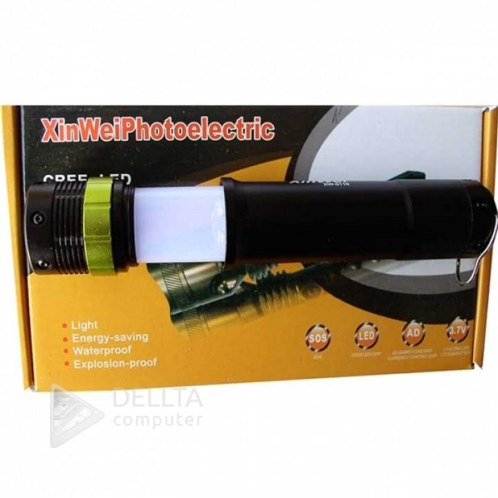 Фонарик XW 6119 XW-41-45    rechargable