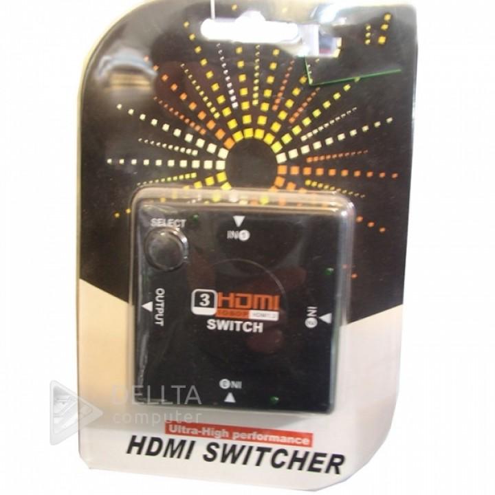 Switch HDMI 301B