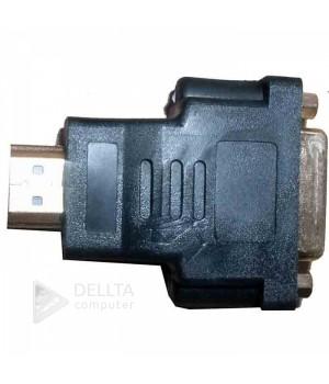 Переходник HDMI M/DVI24+5F