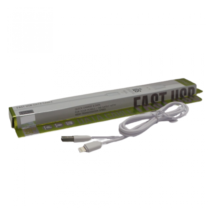 Кабель USB LDNio Iphone 2.1A White (SY-03)