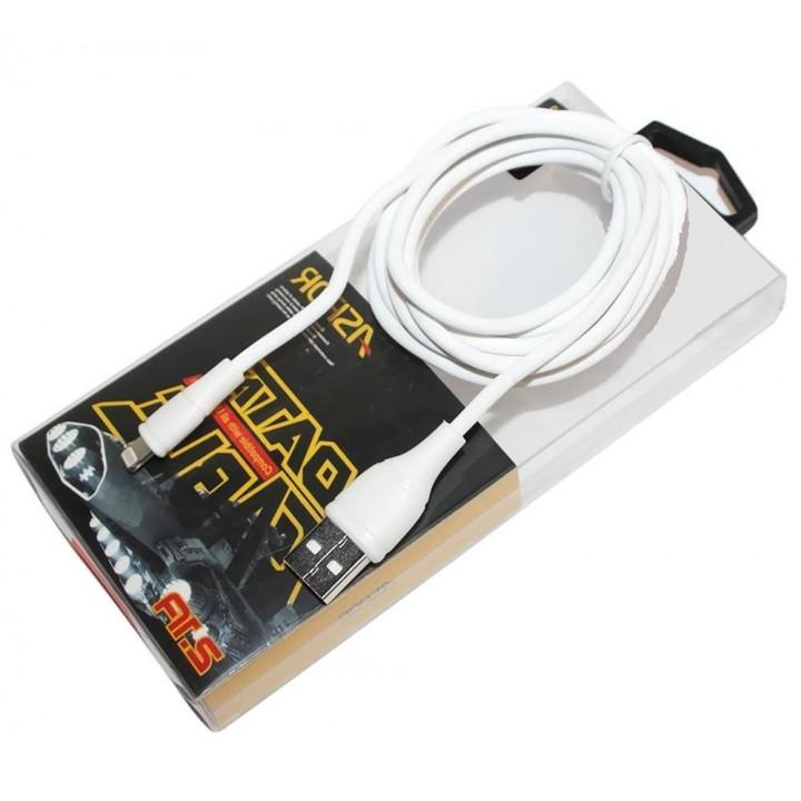Кабель USB iphone5/6/7/8  Aspor AC-02