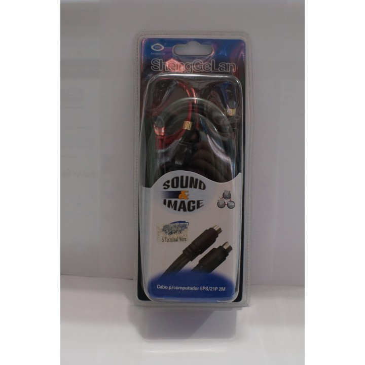 Кабель s-video 1.5m 941A S Terminal Wire bl