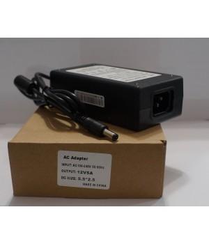Блок питания LCD 12V 5A(5.5*2.5) источник питания тока