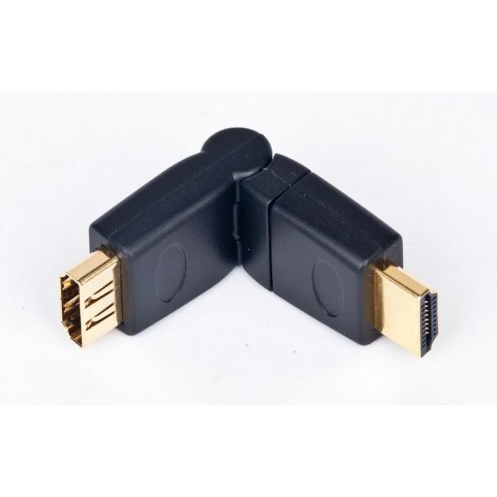 Переходник HDMI M/ HDMI M  поворотный