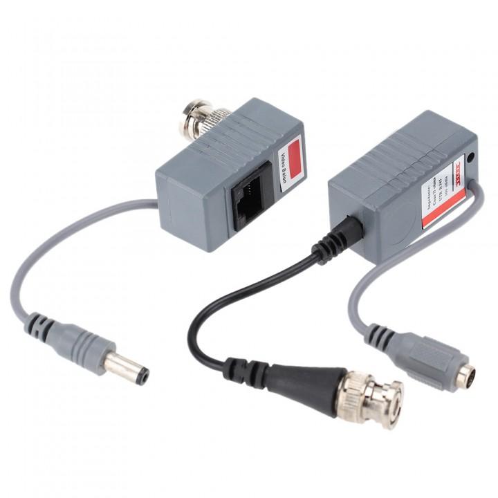 Video Balun Video/Audio/CCTV переходник для камер