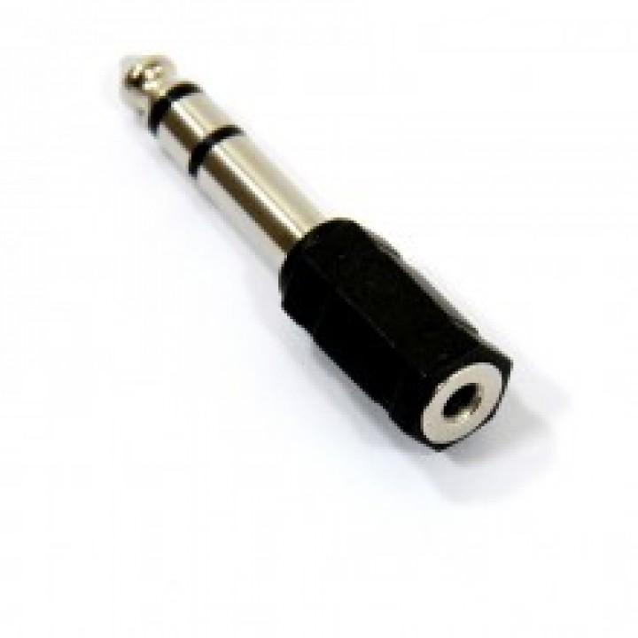 Переходник -штекер audio 6.5M to RCA mono