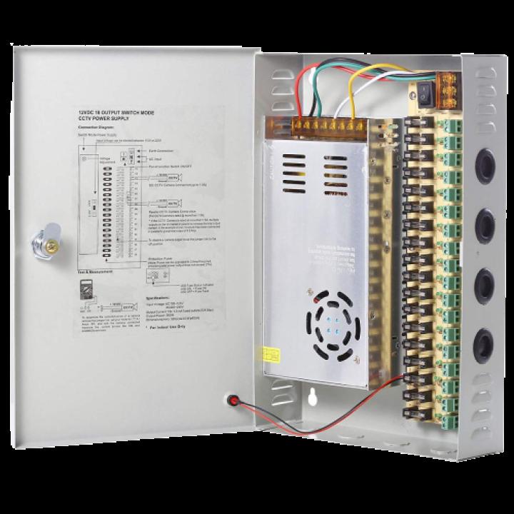 Блок бесперебойного питания CCTV Power Supply 12V30A S18CH-360-12