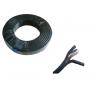 Бухта кабель Fosvision RG58+2*0.5 video+power 75-3-1 P1 100m black