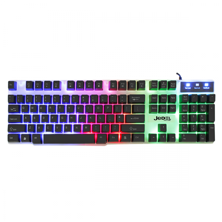Клавиатура K500  Jedel проводнакя с подсветкой