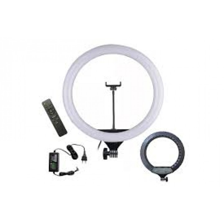 Кольцевая лампа для профессиональной съемки Ring Fill Light CXB-460 46 cm с пультом в сумке