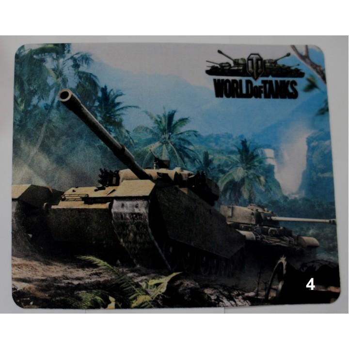 Коврик для мыши 18*22 цвет,(World of the Tanks)