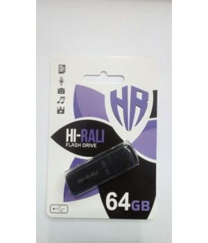 USB флешка Hi-Rali 64Gb Taga series black