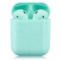 Наушники bluetooth i12 TWS AirPod 5.0 БЕРЮЗА сенсор