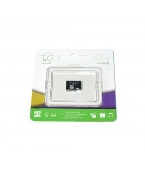 Micro SD карта памяти T&G 32Gb class 10 без адаптера
